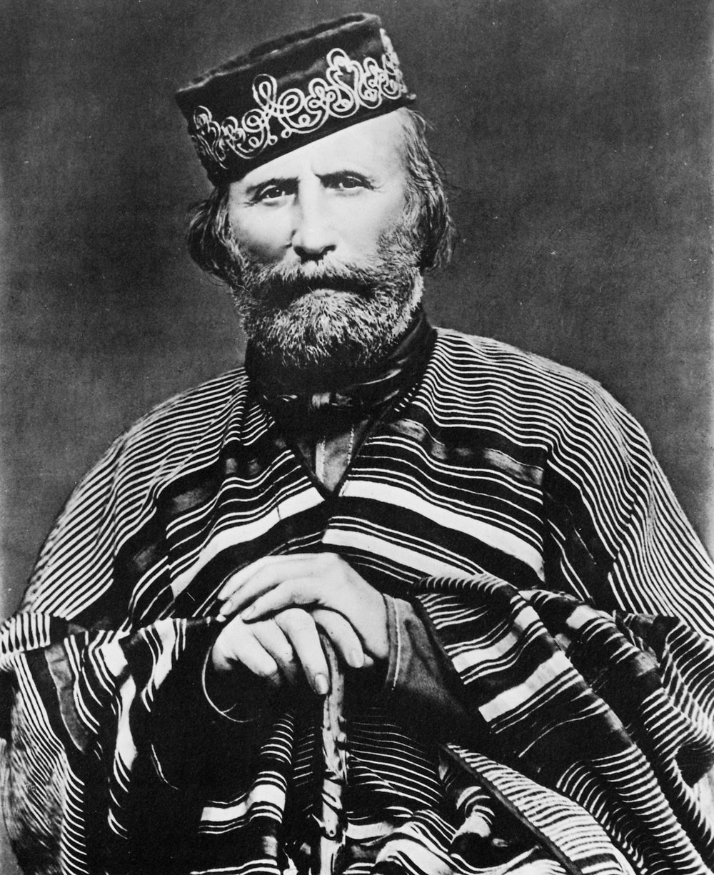 Sai mai che sia stato Garibaldi.