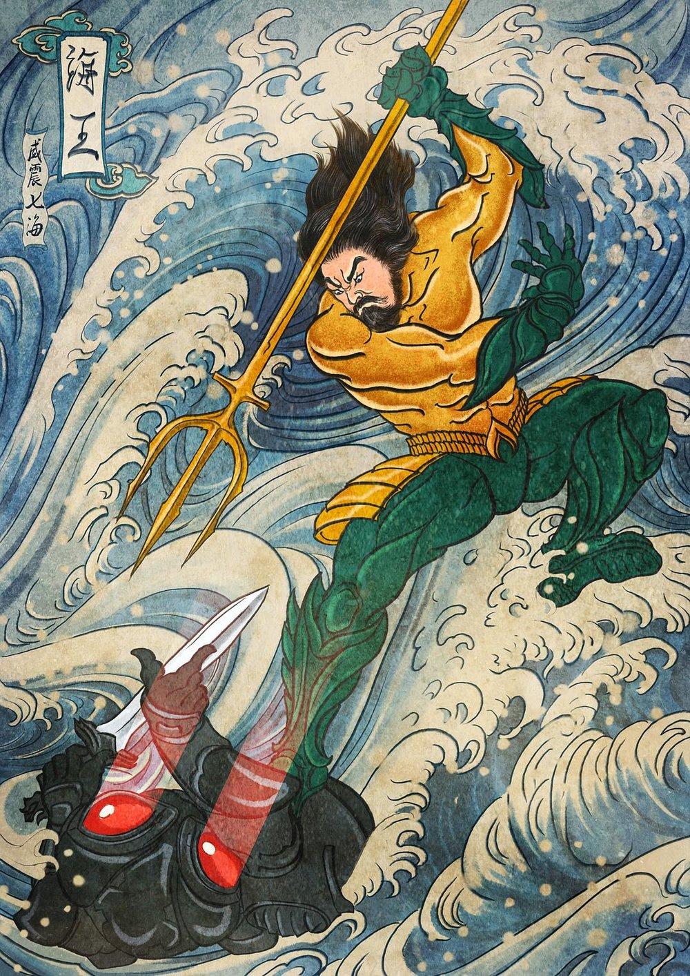 Ah, già, il poster cinese.