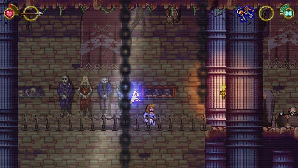 Alcuni elementi del livello, come il ponte immortalato in questa immagine, si confondono un po' col fondale.
