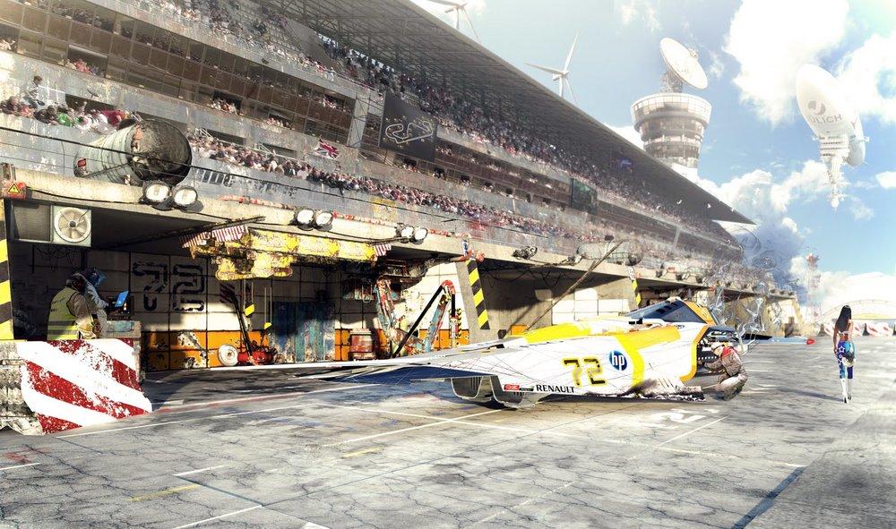 WipEout Le Mans 2094: l'ha fatta un francese, Mickael Cador.