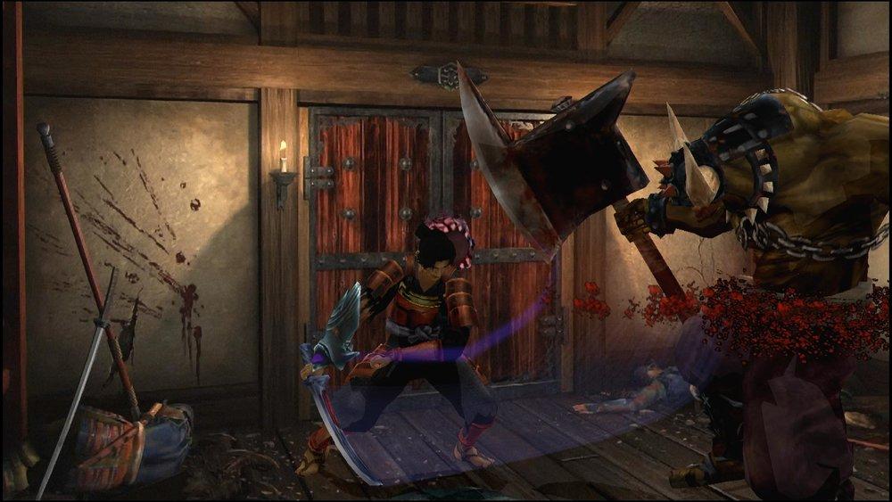 Una porta socchiusa, morti per terra e un demonazzo: gli ingredienti base di  Onimusha .