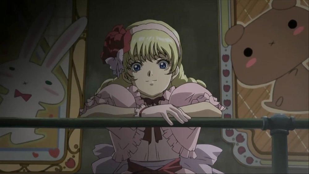 Il personaggio di Patty viene distribuito equamente tra parentesi lolicon e una linea comica mattissima.