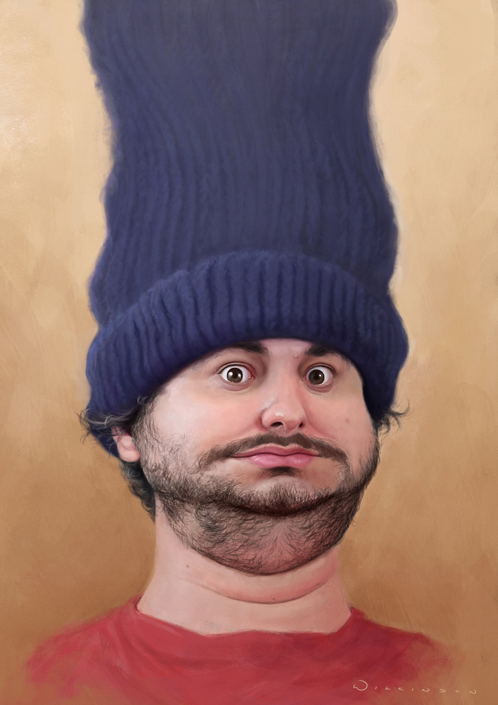 Caricature of h3h3 (Ethan Klein)