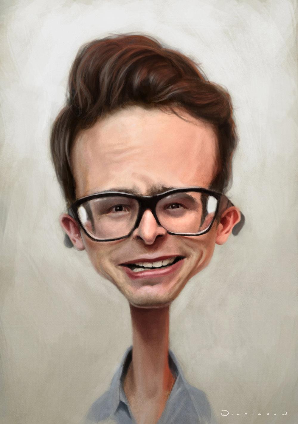 idubbbz Caricature