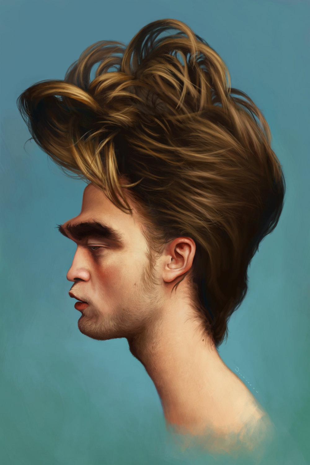 Robert Pattinson Caricature