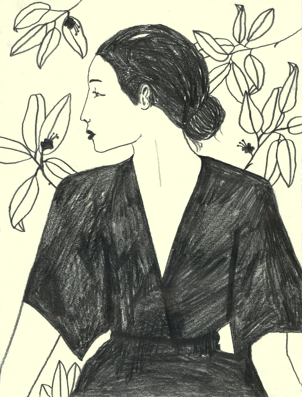 A series of drawings forThree Graces London