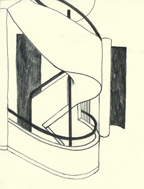Stairs by Le Corbusier