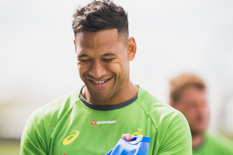 2016, aru, Australian, camp, gold-tooth, israel-folau, players, qantas, rugby, smile, smiling, sunshine-coast, training, union, wallabies.jpg