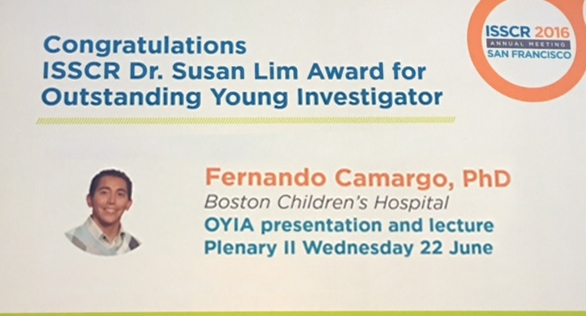 ISSCR DR SUSAN LIM AWARD