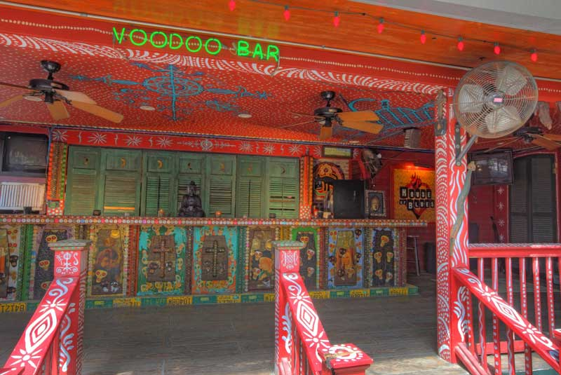 Voodoo Garden Bar for the Vampire Court on Friday and Saturday Noon to 6pm
