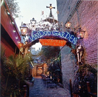 Entrance to the Voodoo Garden