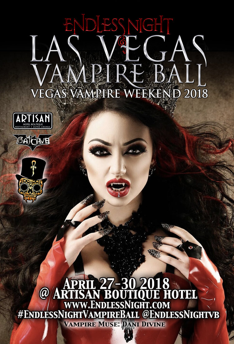 Endless Night Las Vegas Vampire Ball Weekend 2018 Endless Night