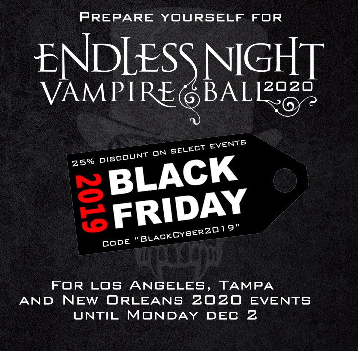 Black Events In Los Angeles 2020.Endless Night 2020 Black Friday Cyber Monday Sale