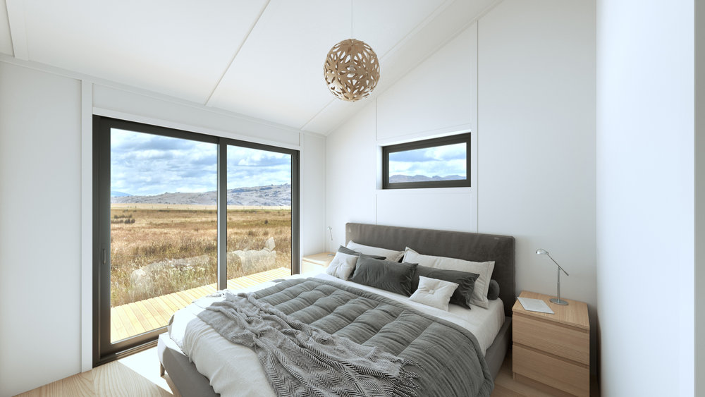One or two bedroom layout options