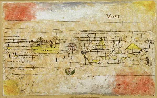 Paul Klee, Vast