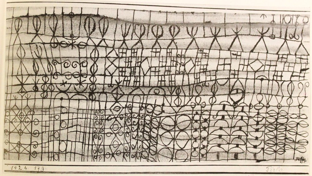 Paul Klee, Cooling in a Garden of the Torrid Zone