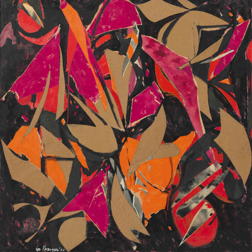 Bird Talk by Lee Krasner 1955