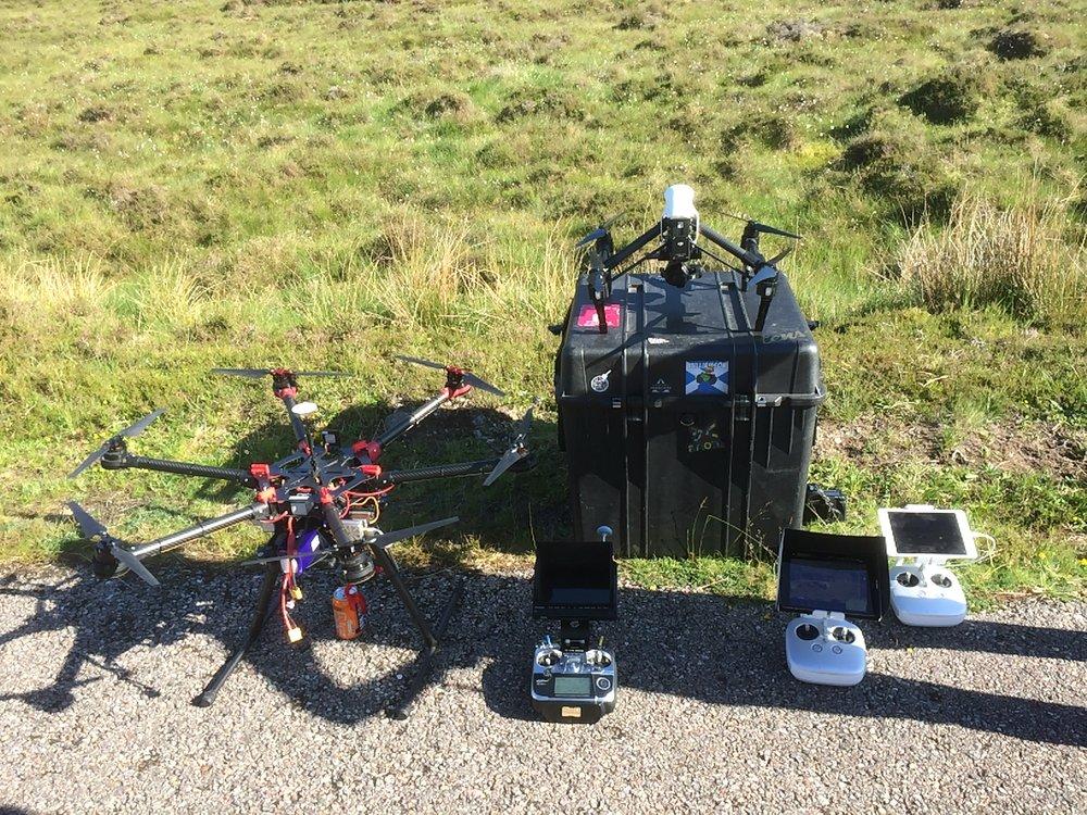 Drone Irn Bru S900