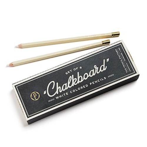 "<p><strong><a href=""http://amzn.to/2Gffygy"" target=""_blank"">Hester & Cook Chalkboard Pencil Set</a></strong>$14.00</p>"