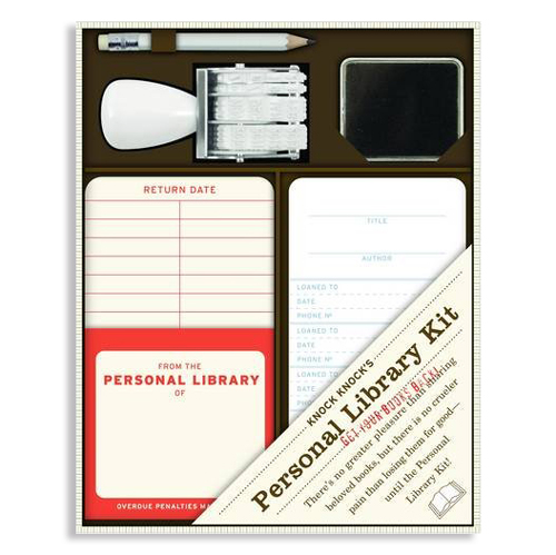 "<p><strong><a href=""http://amzn.to/1TTNayV"" target=""_blank"">Personal Library Kit</a></strong>$18.00</p>"