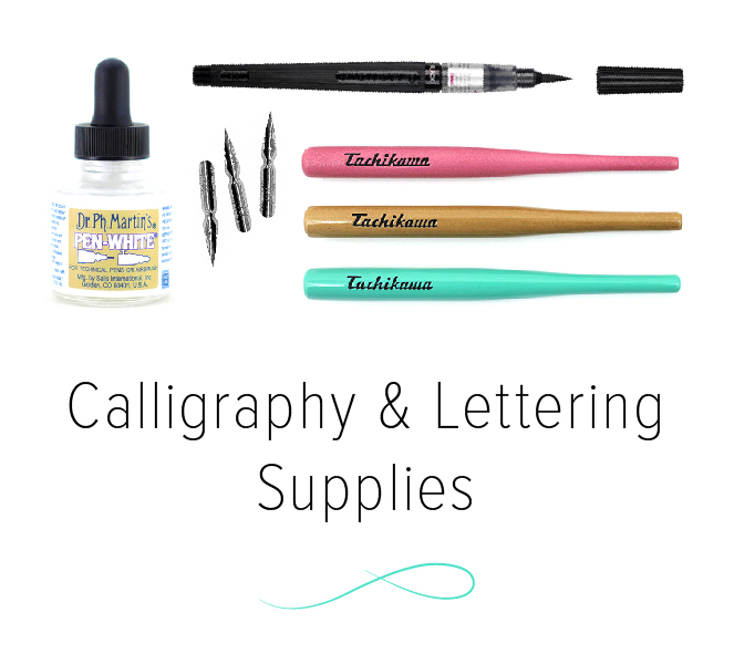 Calligraphy & Lettering Supplies