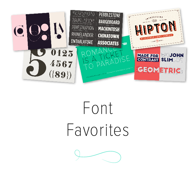 Font Favorites