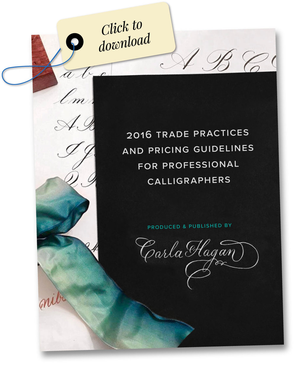 2016 Trade Practices and Pricing Guidelines for Professional Calligraphers by Carla Hagan