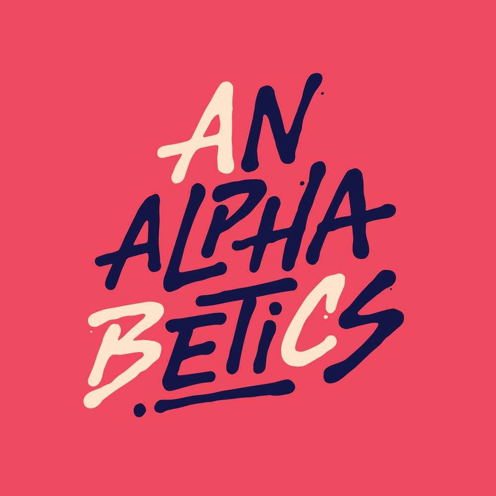 Analphabetics  logo by  Eltipo