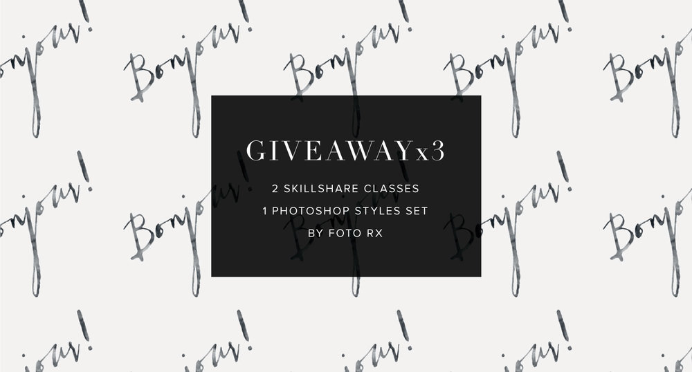 Foto Rx Besotted Skillshare Calligrafile Giveaway