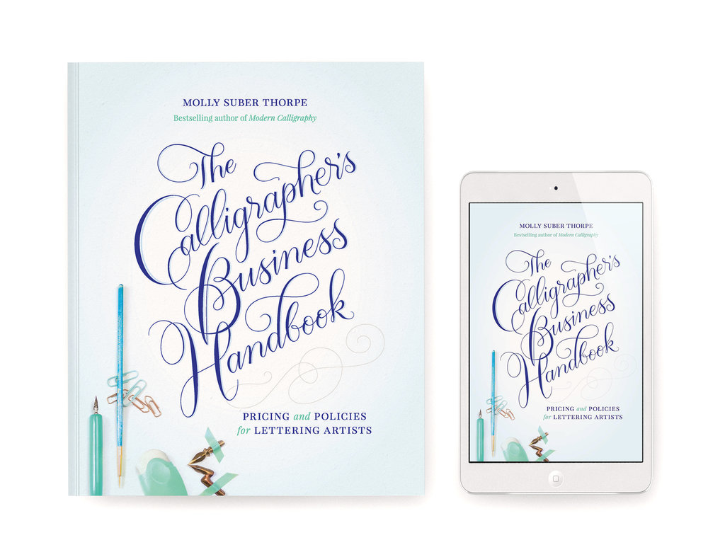Calligrapher's Business Handbook - Molly Suber Thorpe - Plurabelle