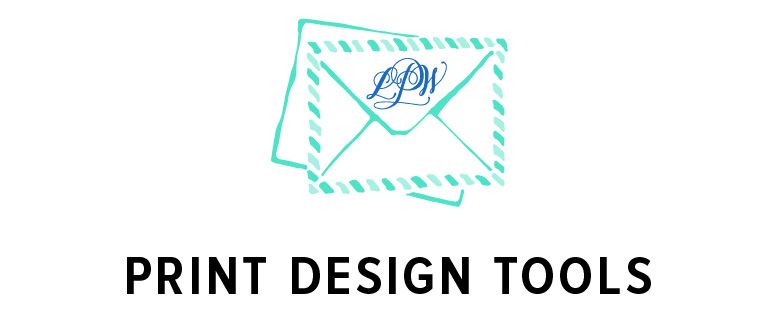 Print Design Tools