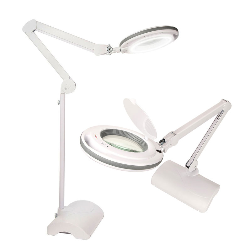 "<p><strong><a href=""http://amzn.to/2zCAze9"" target=""_blank"">Magnifying Daylight Desk Lamp</a></strong>$89.99</p>"
