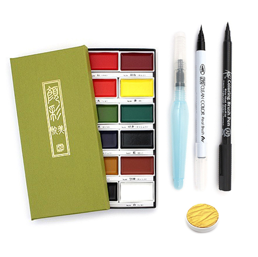 "<p><strong><a href=""https://tinyurl.com/y8m7lxwy"" target=""_blank"">Watercolor Calligraphy Starter Kit</a></strong>$40.00</p>"