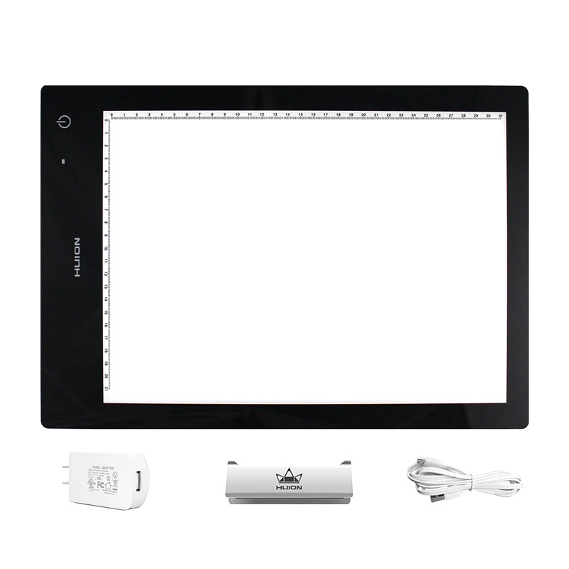 "<p><strong><a href=""http://amzn.to/2d2zkyZ"" target=""_blank"">Huion Portable USB Lightpad</a></strong>$45.00+</p>"