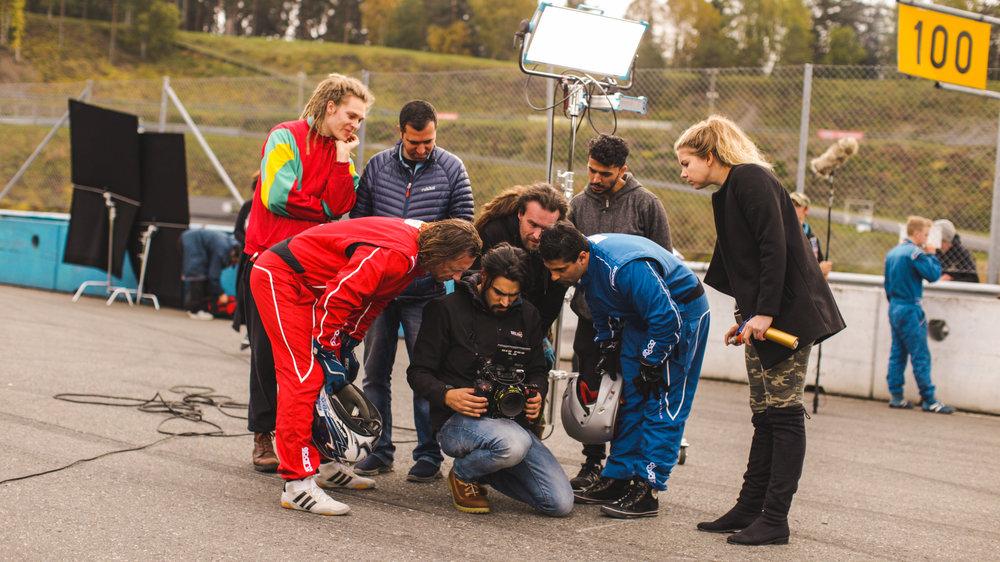 Car race Filming