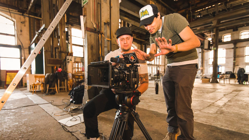 Calebin Give Way Music video