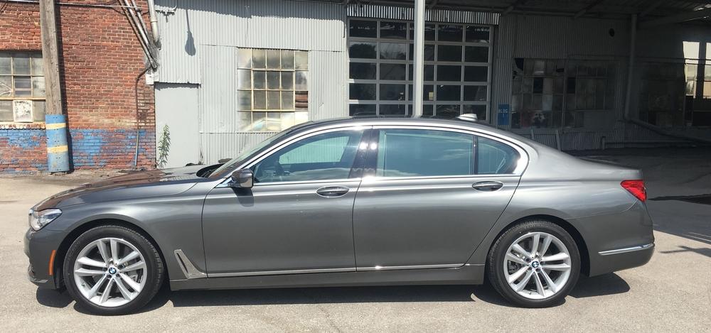 The 750i xDrive is all about stately presence.