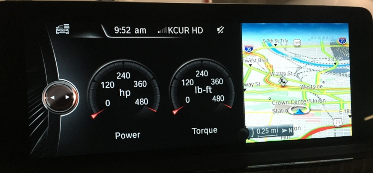 Configurable digital horsepower and torque gauges, because turbochargers.