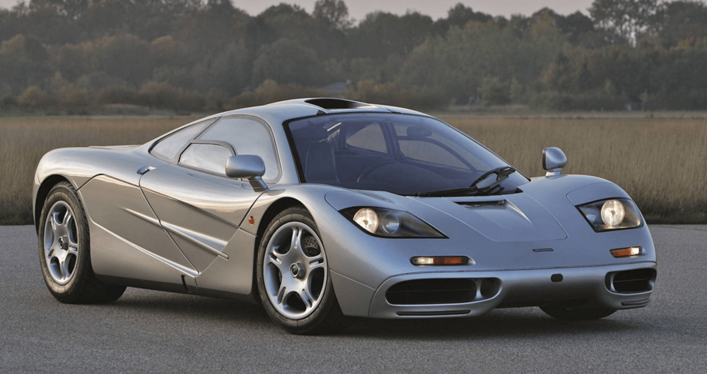 The 1995 McLaren F1 road car still looks like it was sent from some advanced civilization.