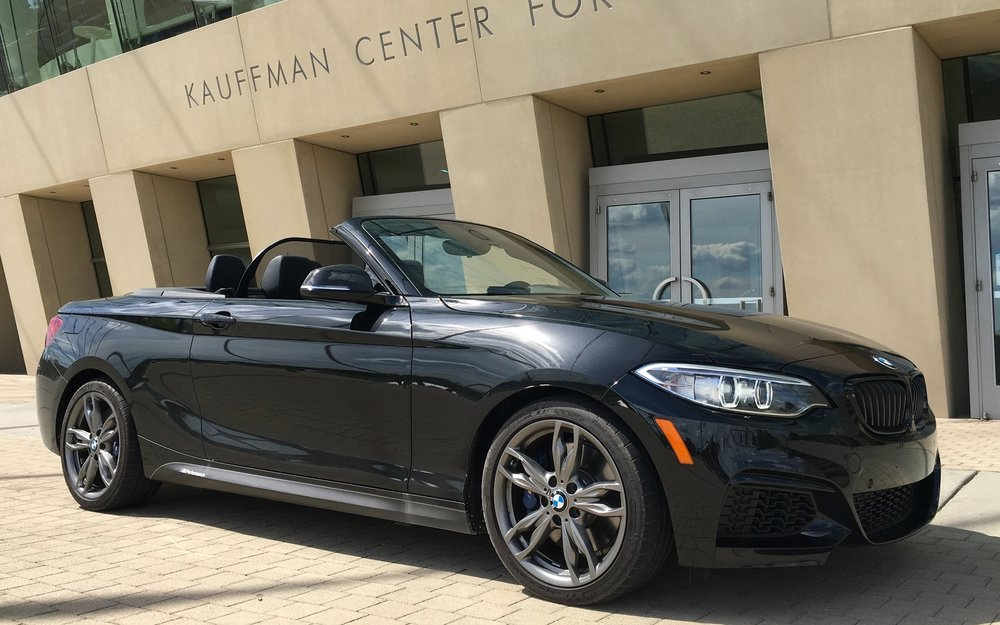 The M235i Convertible has style and presence to spare.  And those wheels!