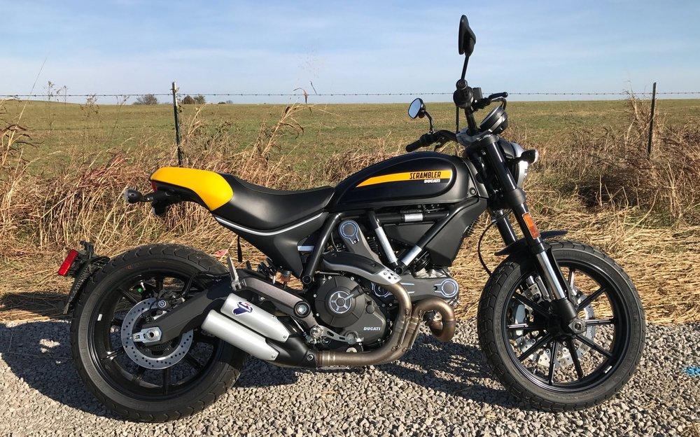 Zip A Dee Doo Dah Ing On A Ducati Scrambler Full Throttle Kanon