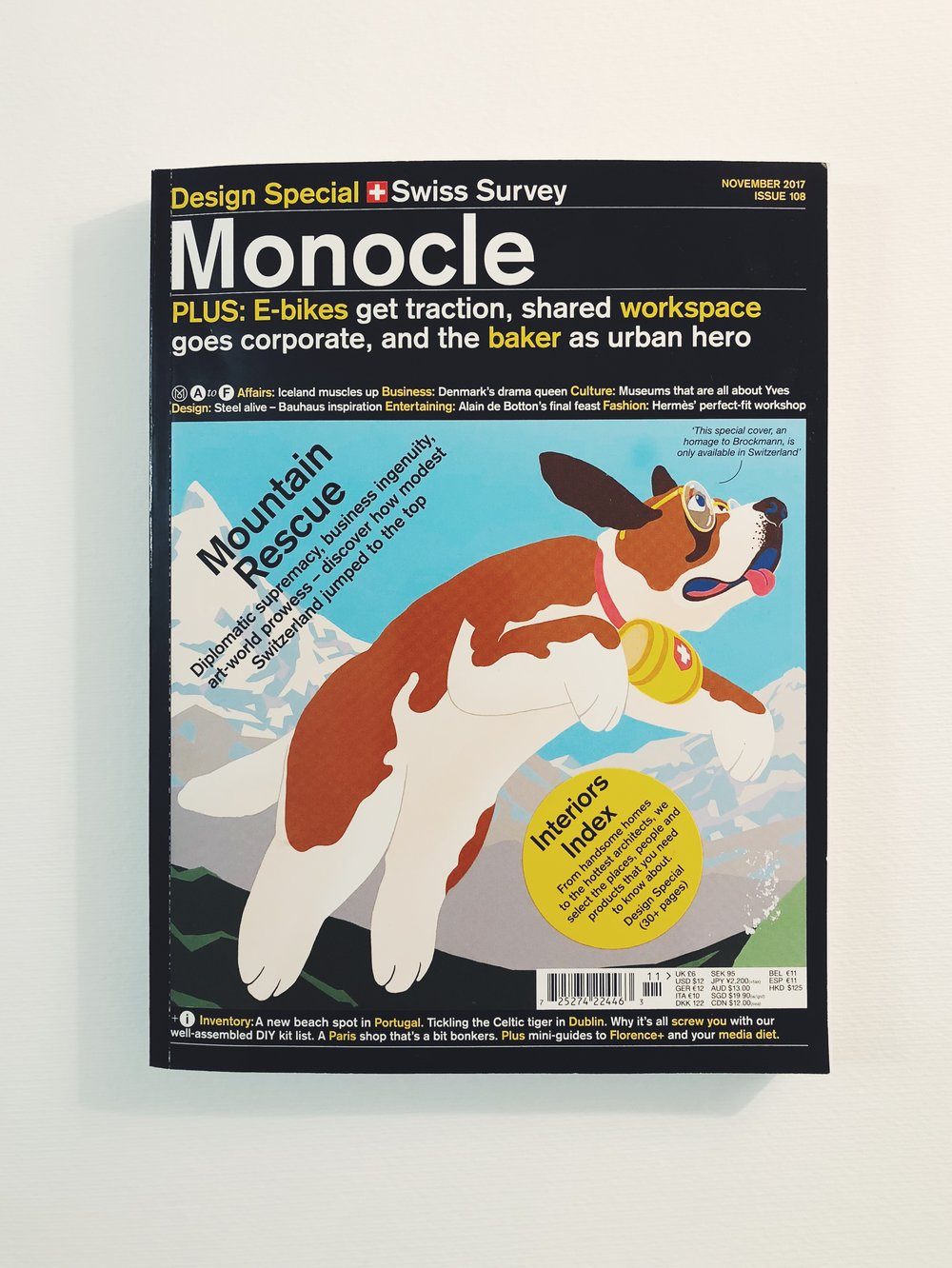 Monocle Magazin Nov 2017