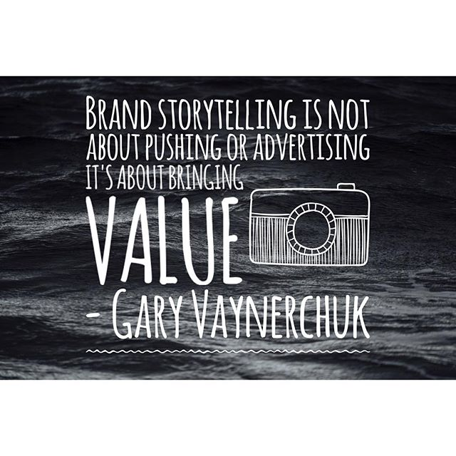 It's about bringing value to the customers! #inboundmarketing #garyvaynerchuk #digitalmarketing #socialmedia #blogging #seo #giveaways #free #ebooks #newsletters