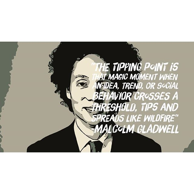 Are you looking for a tipping point?  #Getmorecustomers #Humancenteredmarketing #Digitalmarketing #Viralmarketing #Socialmedia #Videos #Storytelling #Ideas #SEO #SEM #landingpage #newsletters #emailmarketing #websitedesign #websitedevelopment #Graphicdesign #logos #branding #appdevelopment #UI #UX #giveaways #malcolmgladwell