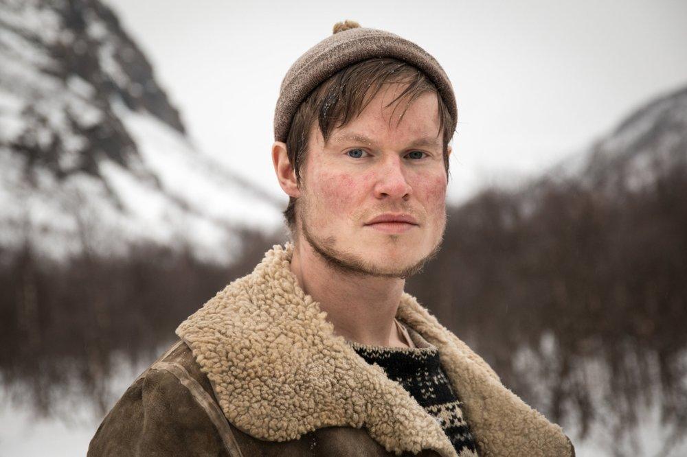 Kim J. Olsen i Den 12. mann, Foto:Petter Skafle Henriksen.