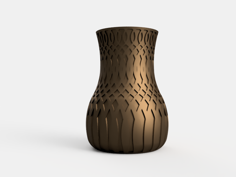 Bouquet Vase - Here is our first vase for special occasions and special people in your life! Blow them away with a high-quality 3D printed vase that costs less than most ceramic vases!Check in during holiday seasons (Mother's Day, Valentines Day, Christmas, etc.) for special offers an discounts!
