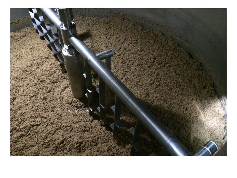 Hard to tell but we use around 3,000 lbs of barley per batch.