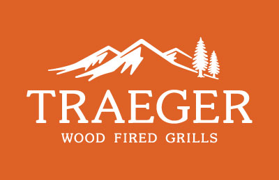 TRAEGER_LOGO-white on orange
