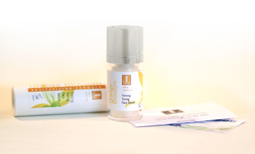 Orange Blossom Firming Face Serum