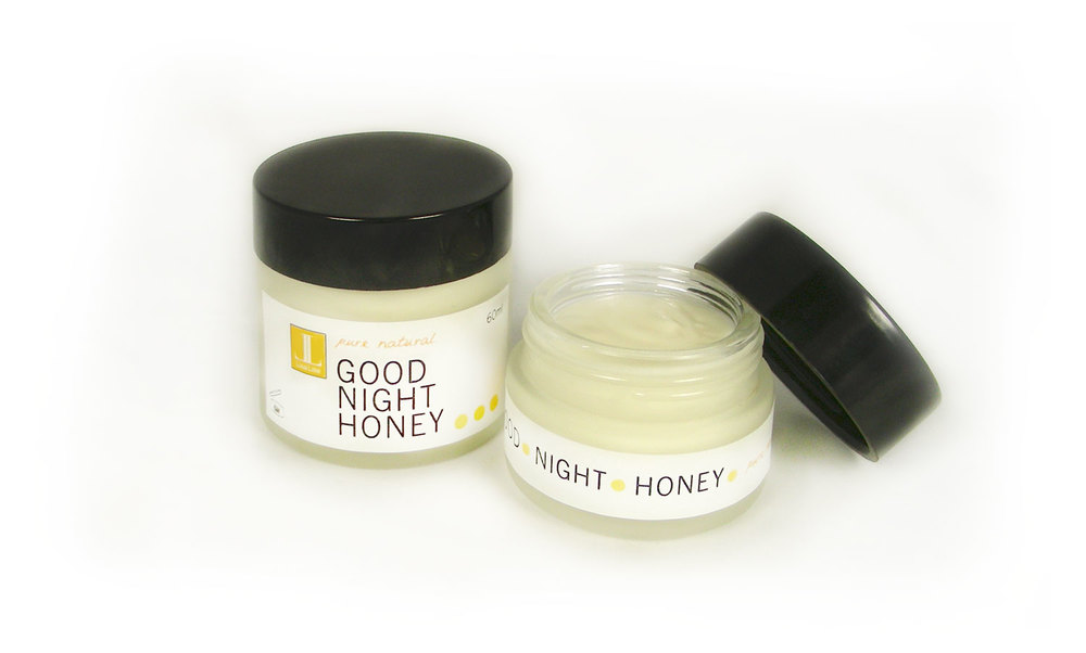 Good Night Honey Cream Features Honey and Hydrofoils
